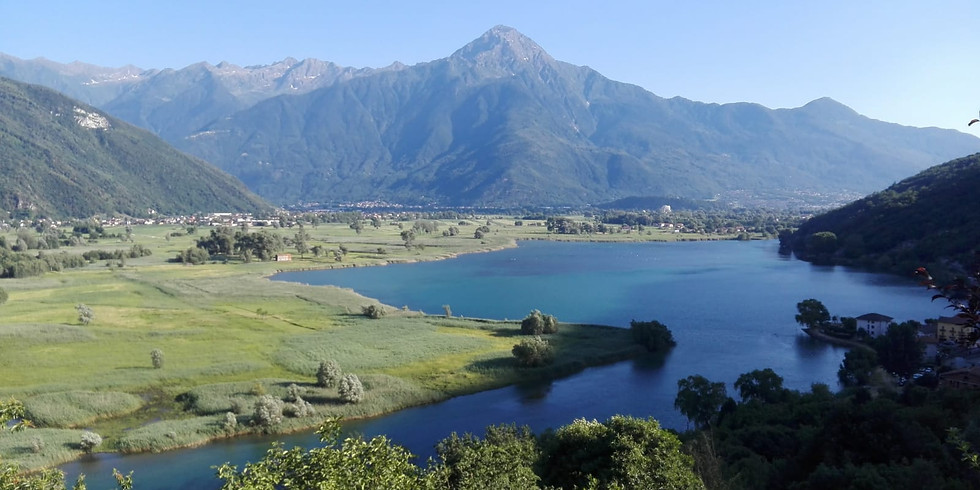 San Fedelino e il lago di Novate Mezzola: tra storia e leggenda.