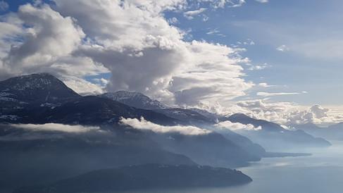 Montagne del lago di Como