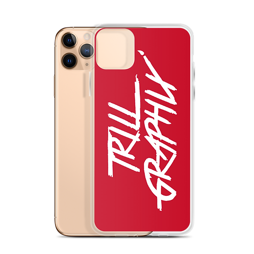 Trill Graphix iPhone Case - Red