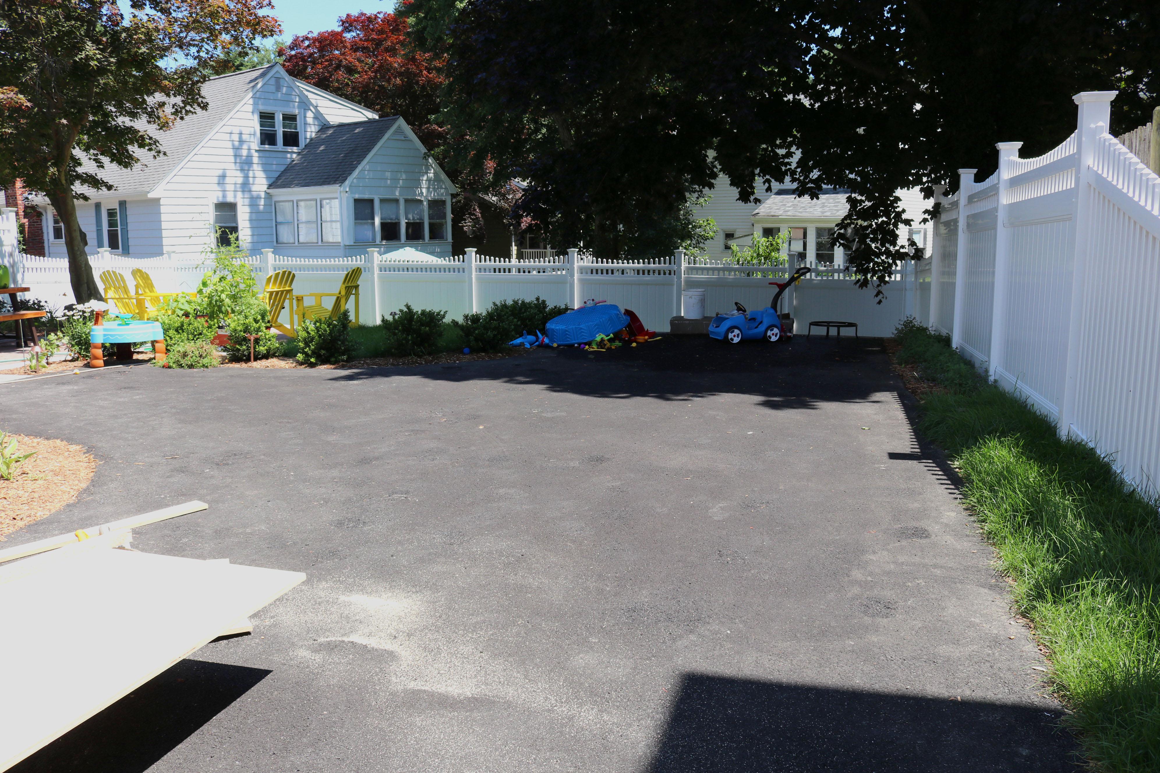 brookline driveway project