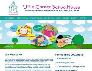 Little Corner SchoolHouse Brookeline Ma