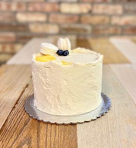 Berry Lemon Curd Cake