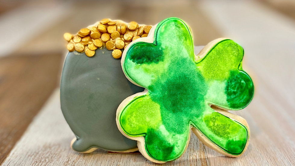 St. Patrick's Day Sugars