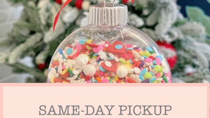 Sprinkle Mix Ornaments
