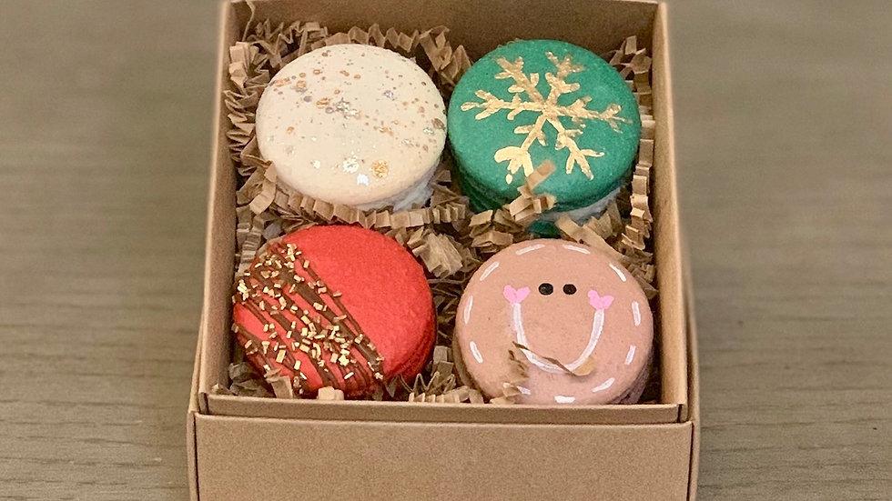 Handpainted Macaron Gift Set