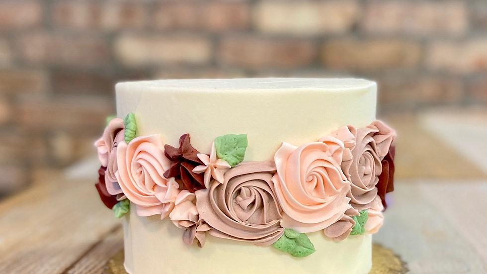 Flower Belt Cake