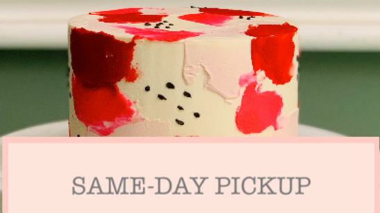Spackle & Dots Cake