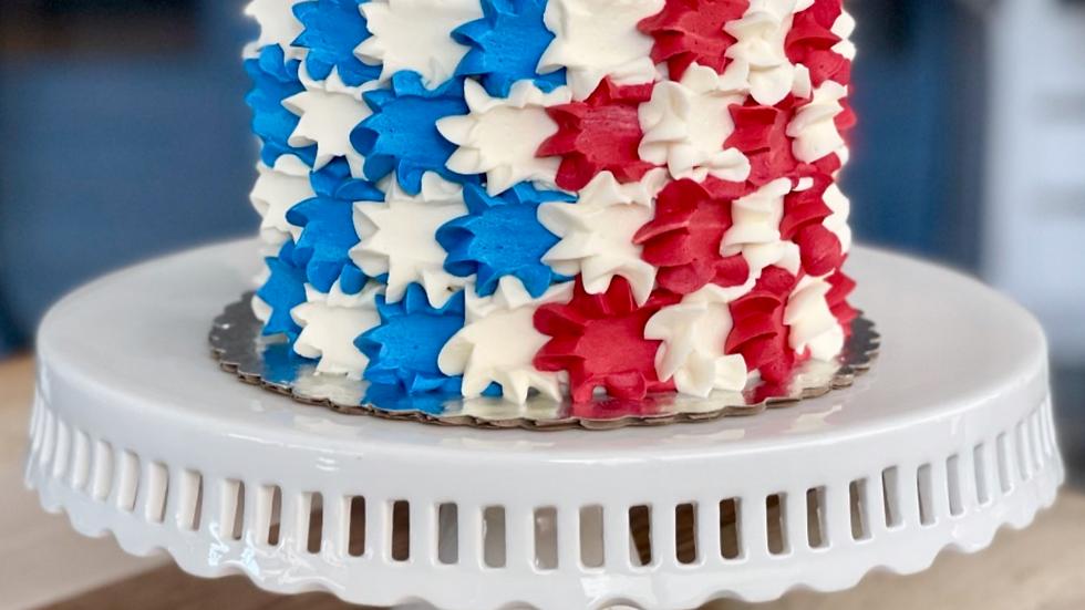 Stars & Stripes Cake
