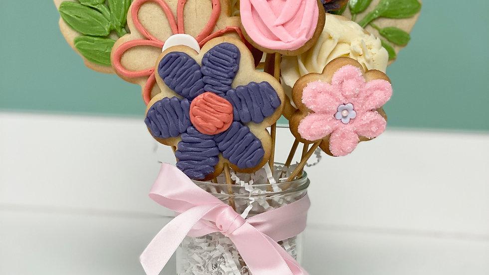 DIY Sugar Cookie Bouquet