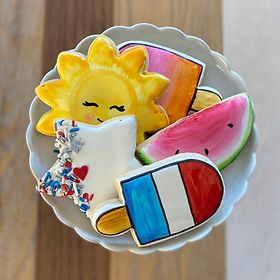 4th of July Sugar Cookies Box