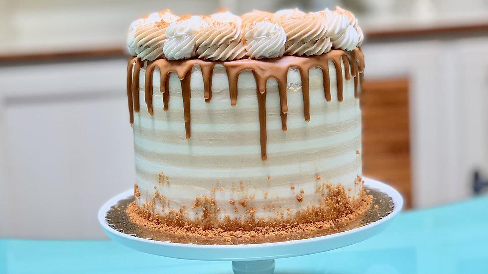 Vanilla Cookie Butter Cake