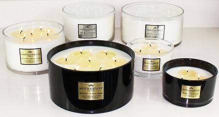 sovereign large multiwick candle range.J