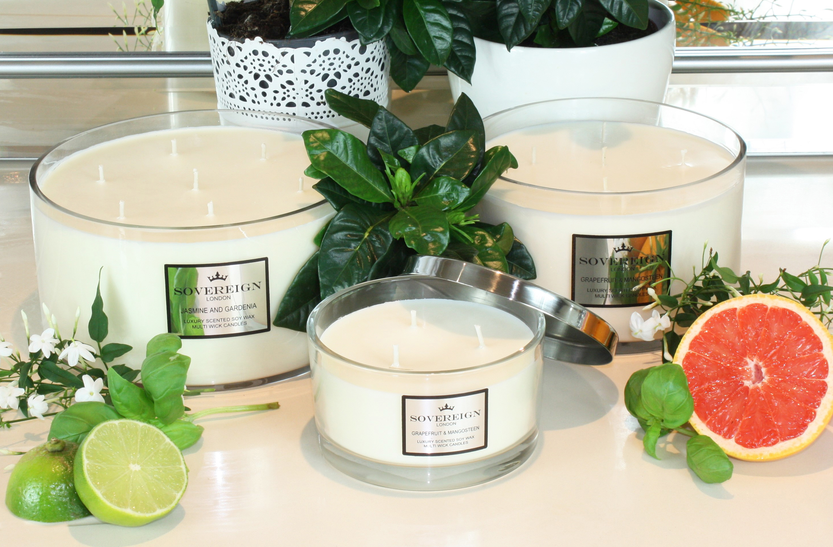 Sovereign vegan candles
