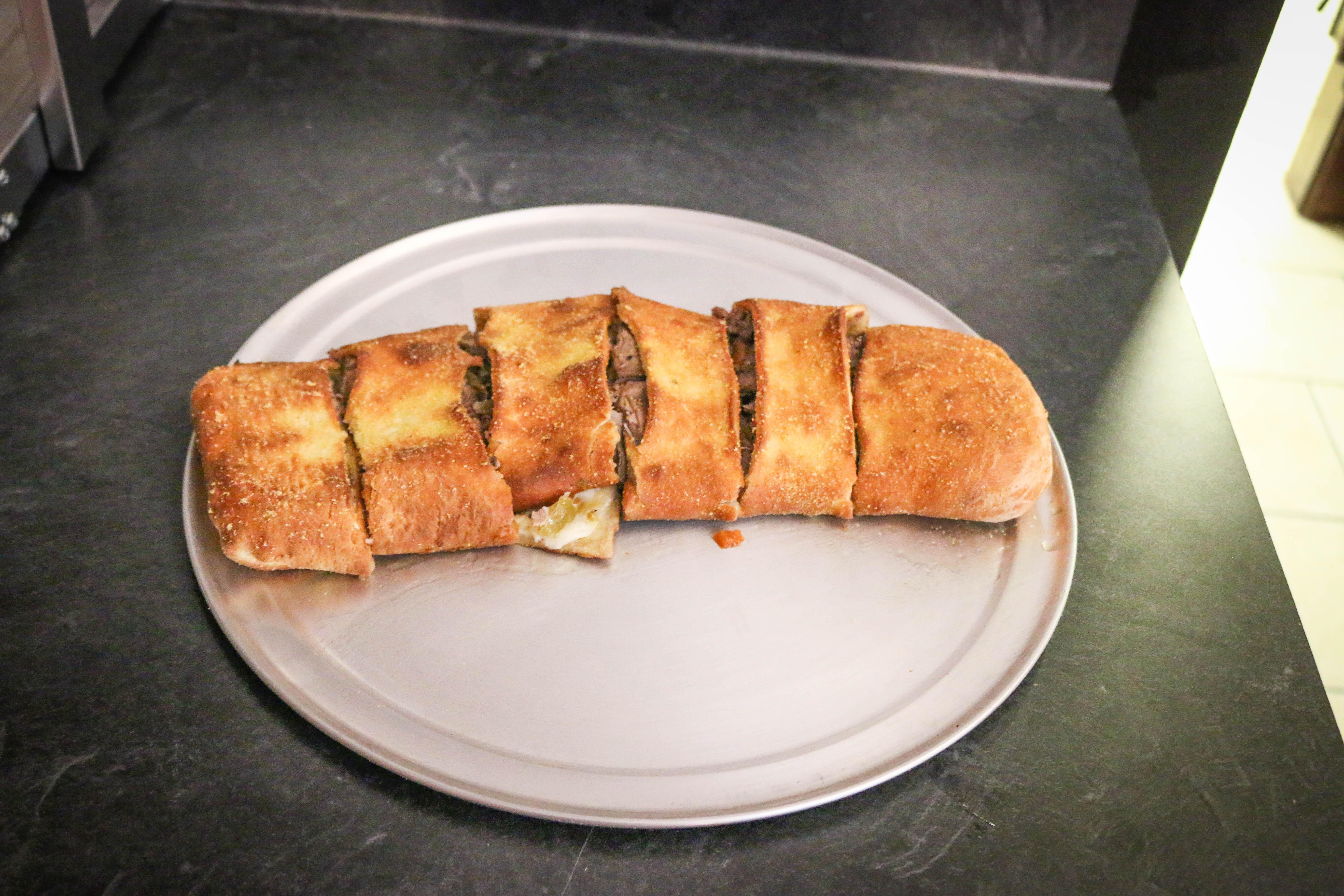 Italian Beef Stromboli