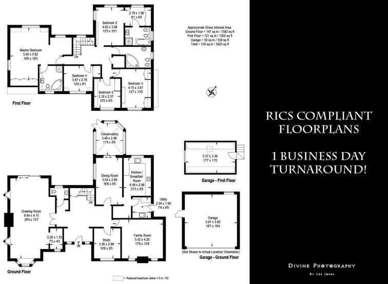 RICS floor plan service
