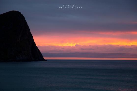 Unstad Sunset, Lofoten