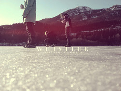 Whistler Frozen Lake