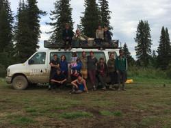 Nicole's Tree Planting Crew