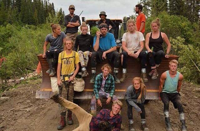 Eli's Tree Planting Crew