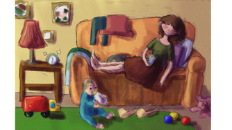 Почему мамы устают. Еще один способ объяснить близким, почему к концу дня вы вымотаны.
