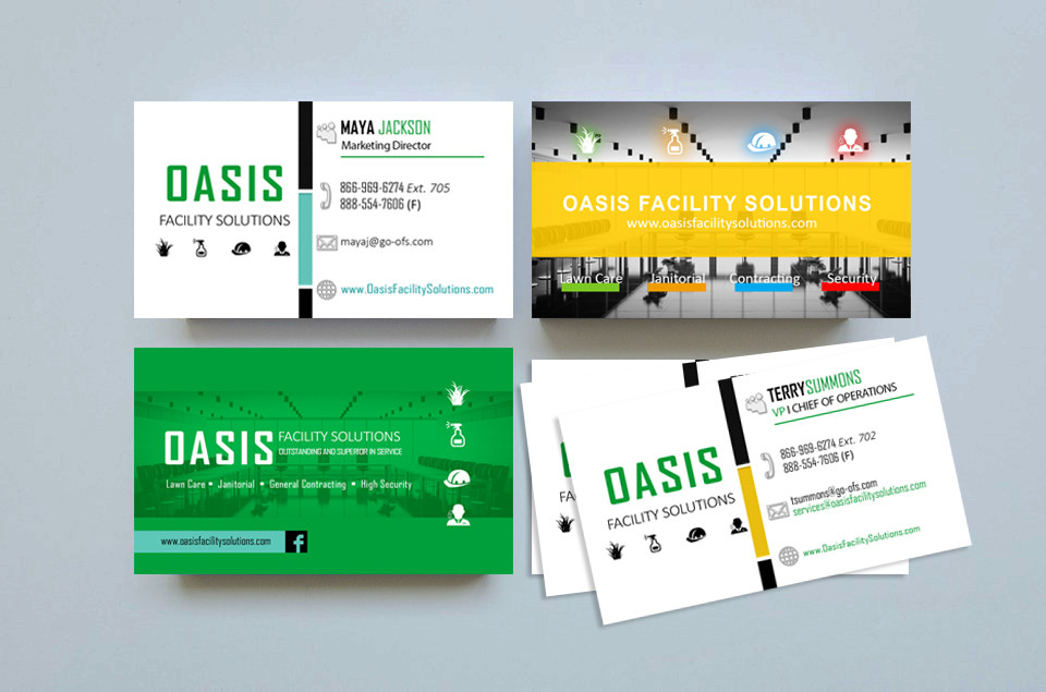 OASIS Business Cards
