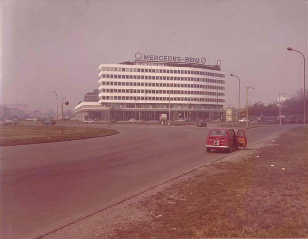 Sede Mercedes, Milano 1970