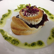 Goats Cheese and Caramelised Red Onion Tart