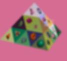 פירמידת אור קריסטלית