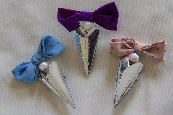 Silk Bow Brooch