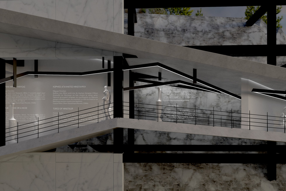 Mixed Reality Museum for the Ancient Quarries of Pendeli