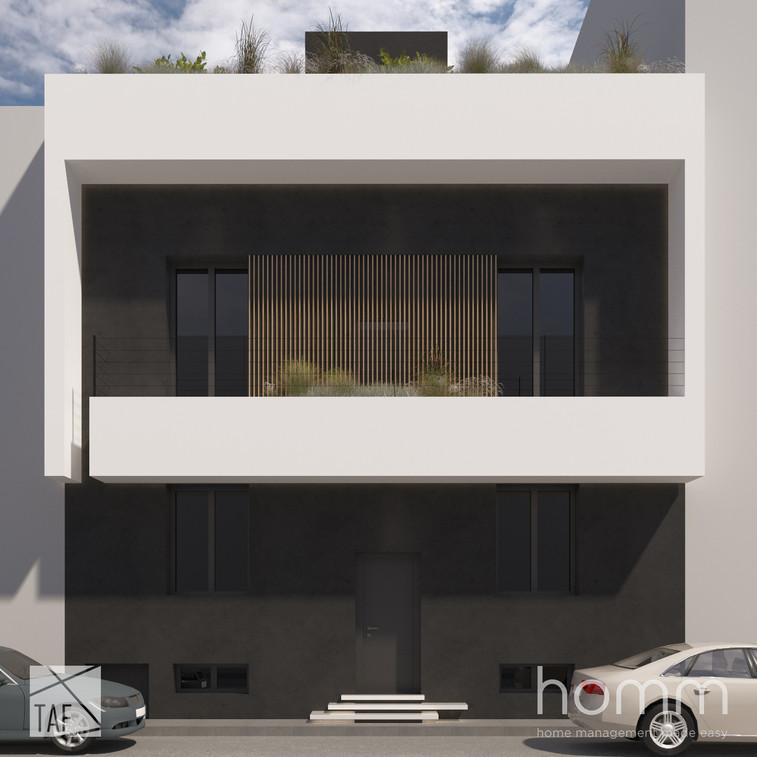 Apartment Building in Patisia