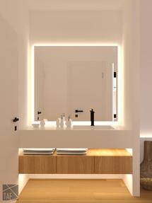 Hotel in Thassos bathroomTAF _ Taliakis