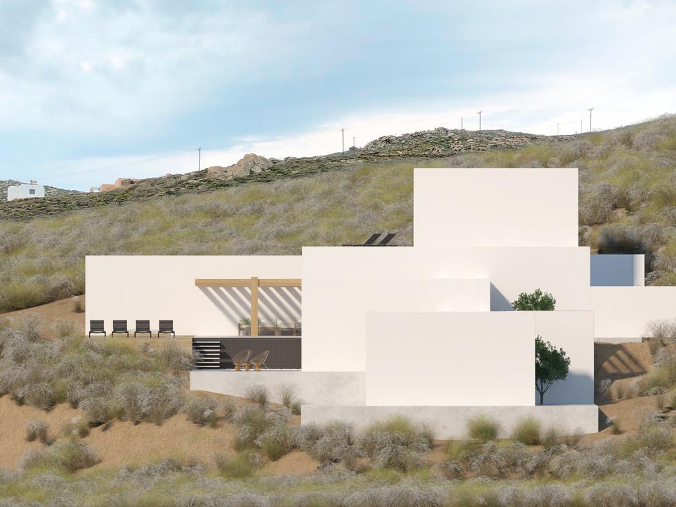 Vizualization: Villa in Mykonos
