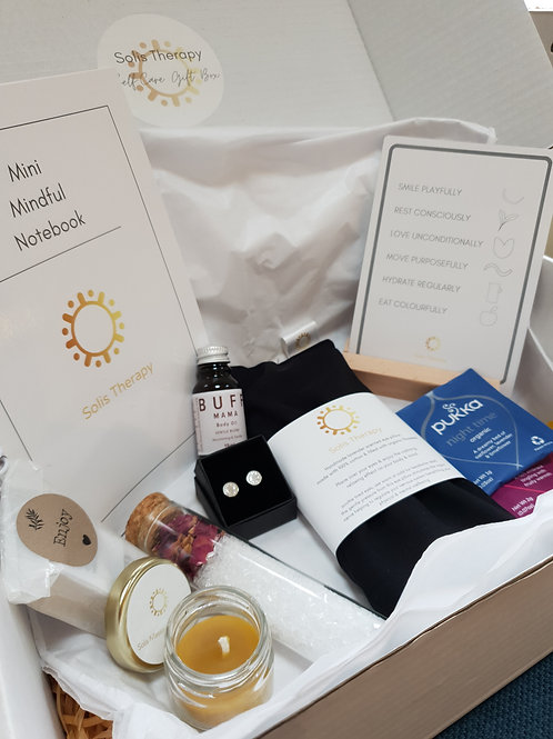Treat Self-Care Gift Box inc. Solis Jewellery