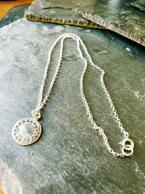 Sterling Silver Pendant & Necklace