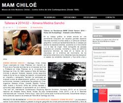 portada parcial MAM Chiloé Residencia