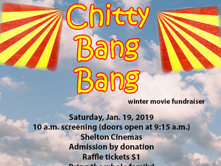 Winter Movie Fundraiser: Chitty Chitty Bang Bang
