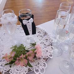 wesele rustykalne golden palace szampan