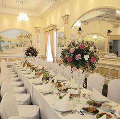 sala weselna glamour golden palace kwiaty