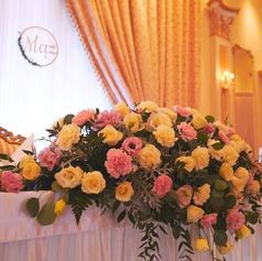 wesele golden palace bukiet kwiatów