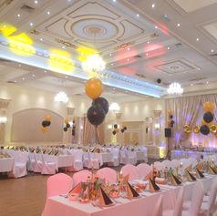 sala bankietowa golden palace balony