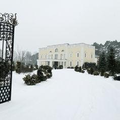 komunia golden palace snieg zima