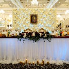sale weselna golden palace firanki