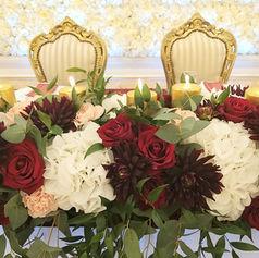 weselne golden palace kwiaty
