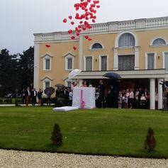 prezent golden palace balony