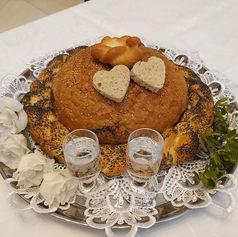 powitanie chlebem i solą golden palace kieliszki