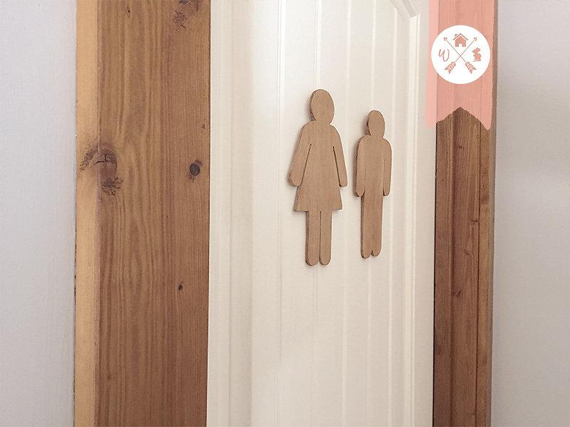 Bathroom Signs Canada home decor canada online shop | bathroom sign - restroom sign