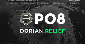 Resist Dorian Hurricane with PO8!