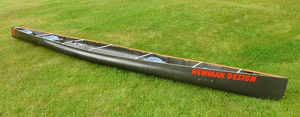 This canoe was designed to meet the specs of the unlimited class in the C4 division of the Adirondack 90 miler