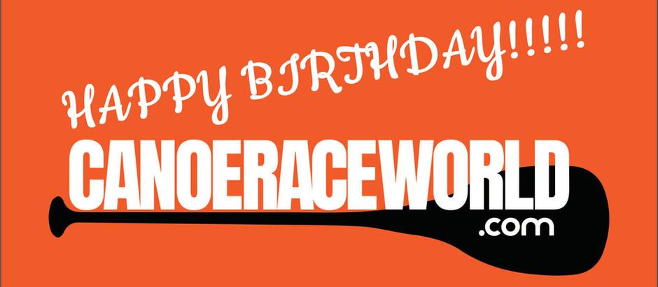 HAPPY BIRTHDAY CANOERACEWORLD!!!